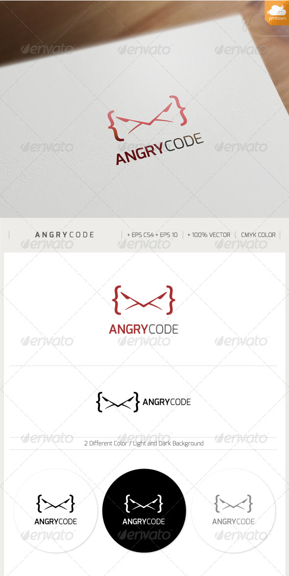 GraphicRiver Angry Code 7657650