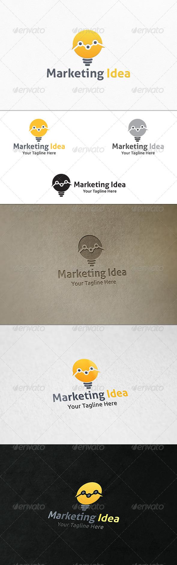 GraphicRiver Marketing Idea Logo Template 7657659
