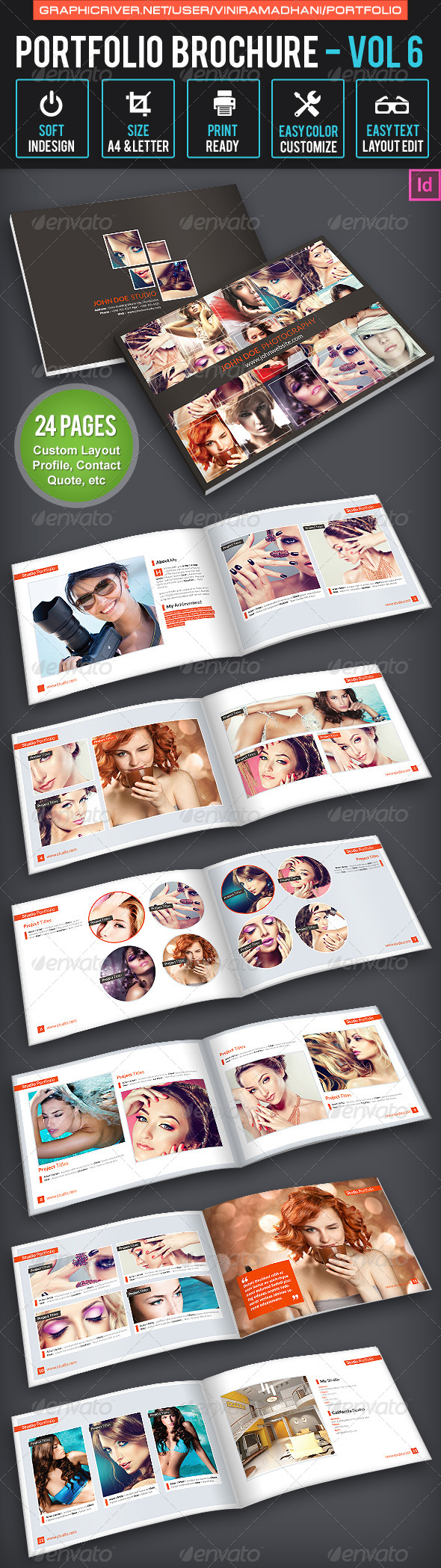 GraphicRiver Photography Brochure Volume 6 7658207