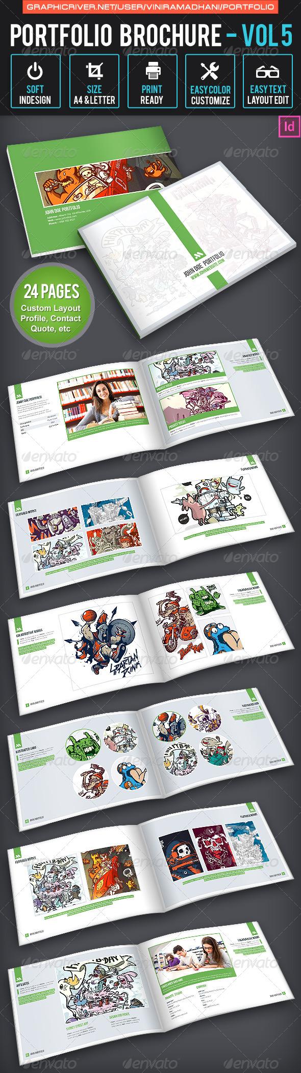 GraphicRiver Portfolio Brochure Volume 5 7658221