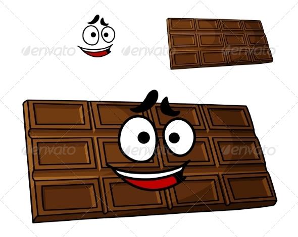 GraphicRiver Cartoon Chocolate Dessert 7658409