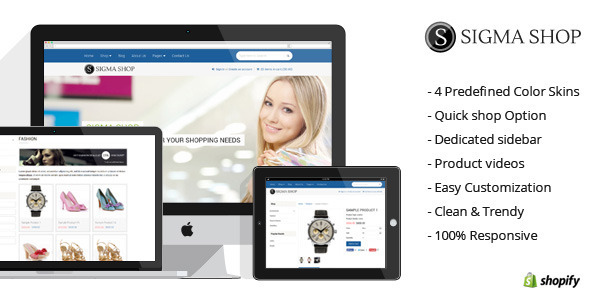 ThemeForest Sigma Responsive Multipurpose Shopify Theme 7658597