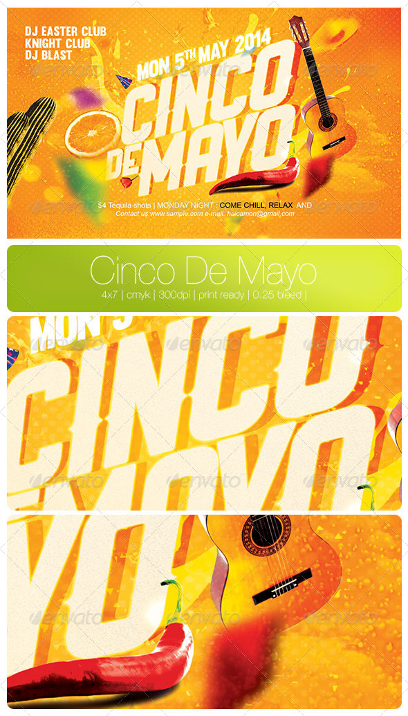 GraphicRiver Cinco De Mayo 7658600