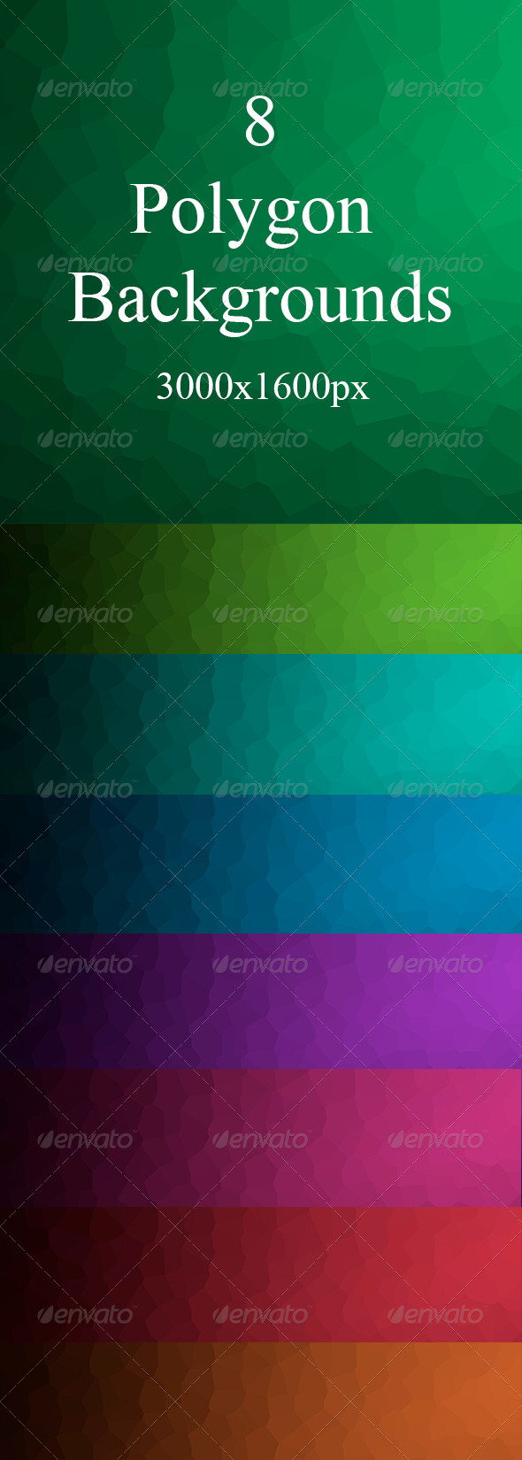 GraphicRiver Polygon Backgrounds 7658615
