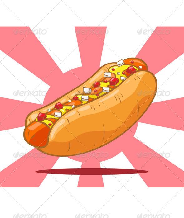 GraphicRiver Hot Dog 7659376