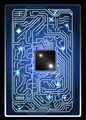 futuristic abstract background computer interface circuit board vector illustration - PhotoDune Item for Sale