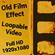 Old Film Effect