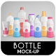 Sanitary Hygiene | Drink Bottle Mock-Up - GraphicRiver Item for Sale