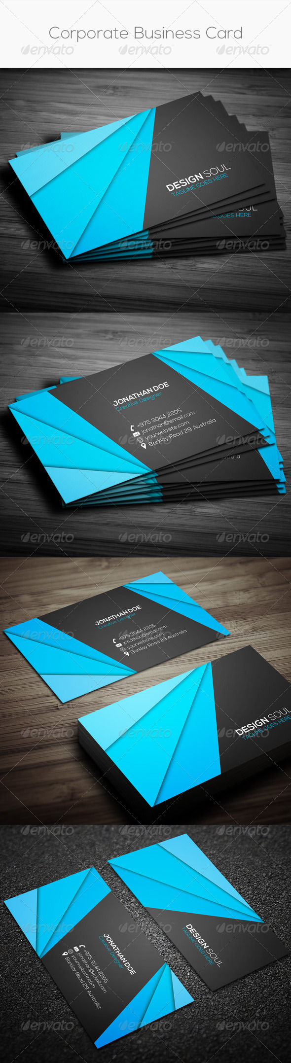 GraphicRiver Corporate Business Card 7659514