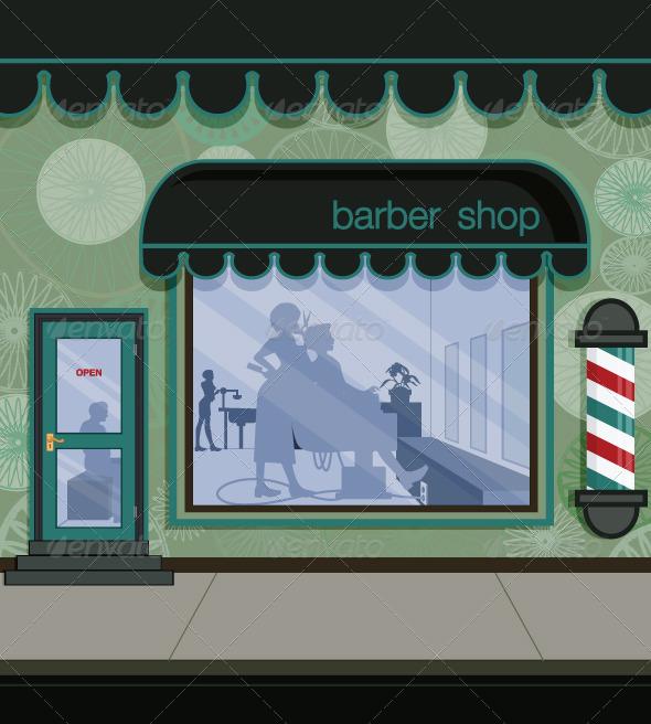 GraphicRiver Barbershop 7659603