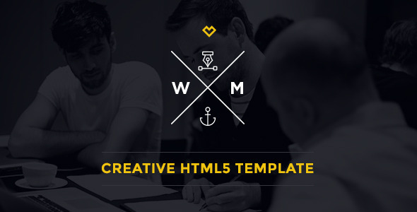 W&M | One Page Multi-Purpose HTML5 Template - Portfolio Creative