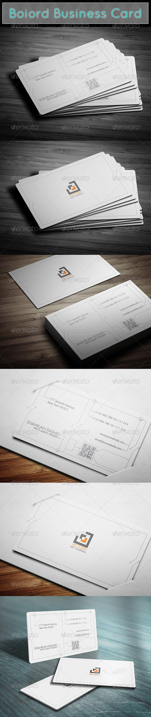 GraphicRiver Boiord Business Card 7660111