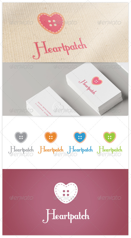 GraphicRiver Heartpatch Logo 7660484