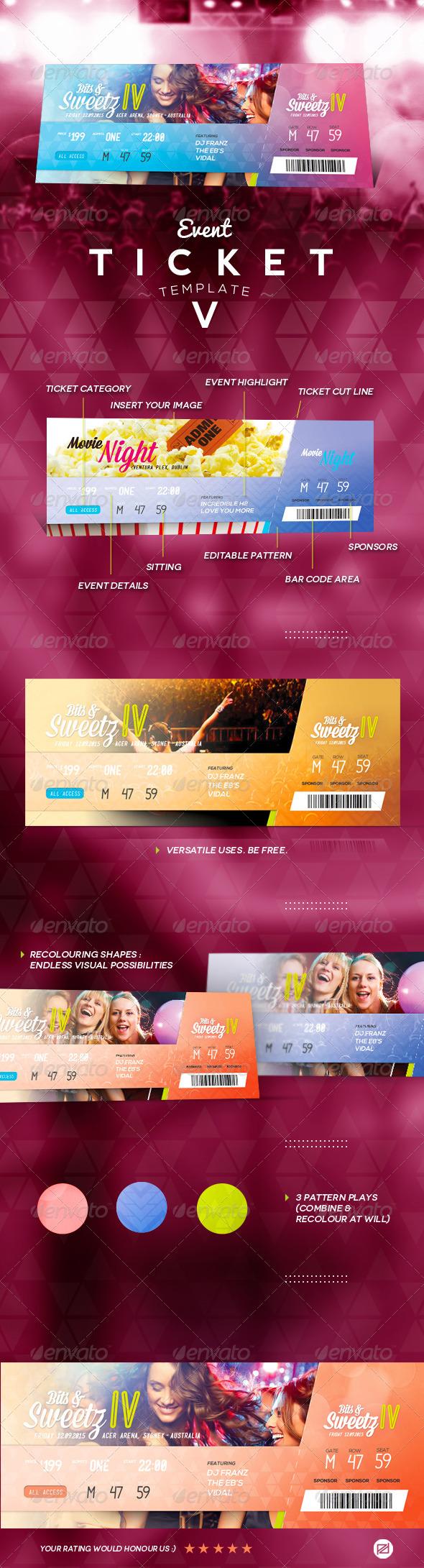 GraphicRiver Event Ticket Template V 7660664