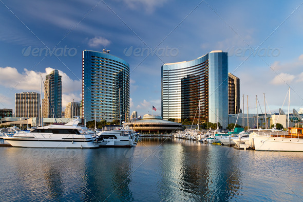 PhotoDune San Diego California Downtown Marina 784726