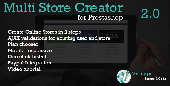 CodeCanyon Multi Store Creator for Prestashop 7662685