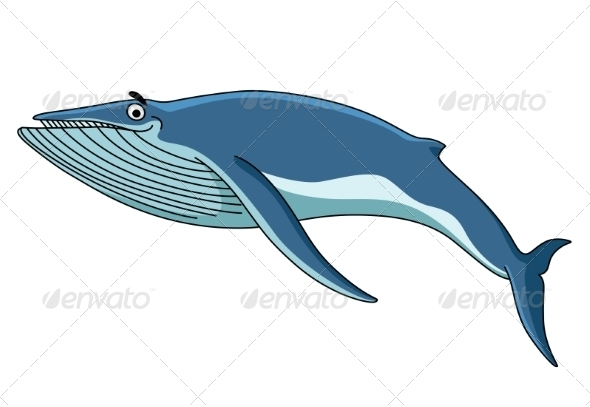 GraphicRiver Big Blue Baleen Whale 7663027