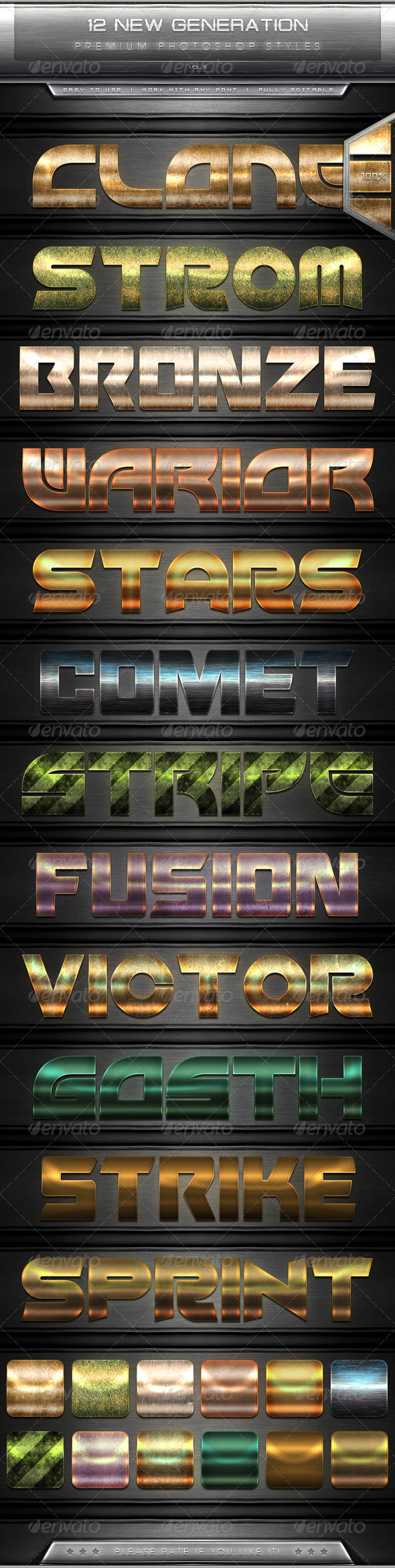 GraphicRiver 12 New Generation Text Effect Styles Vol.3 7663035