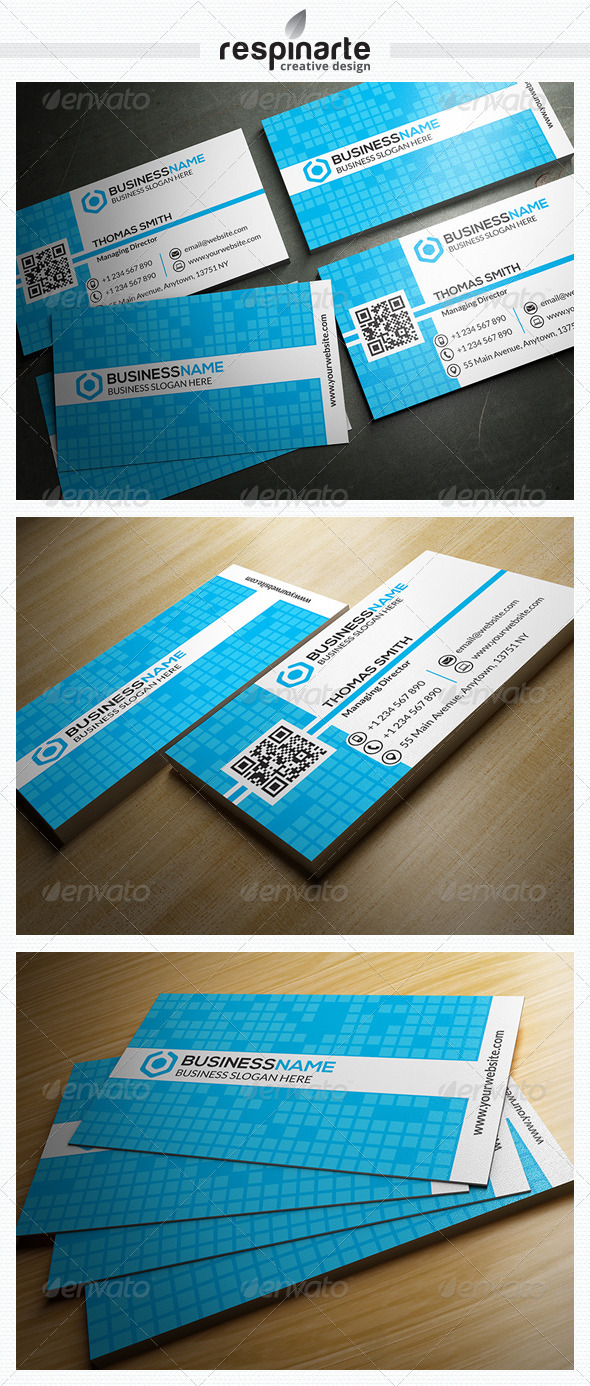 GraphicRiver Corporate Business Card RA19 7663046