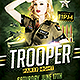 Trooper Flyer Template - GraphicRiver Item for Sale