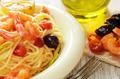 Seafood spaghetti pasta dish with shrimps - PhotoDune Item for Sale