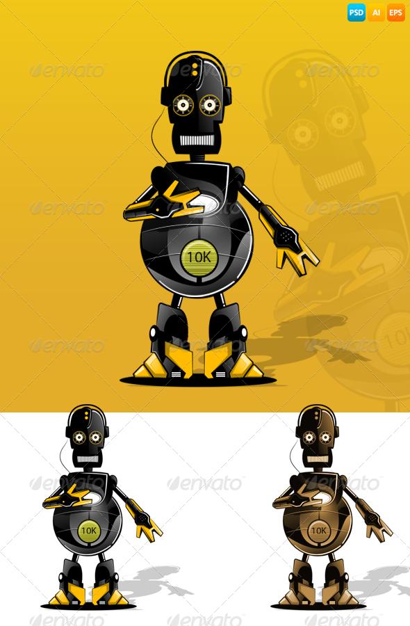 GraphicRiver Robot 7584809