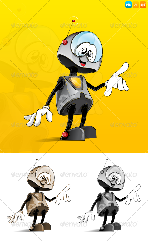 GraphicRiver Robot 7608657