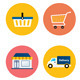 Vector Collection of  Flat Shopping Icons - GraphicRiver Item for Sale