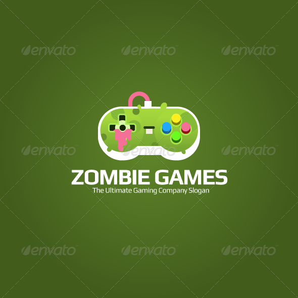 GraphicRiver Zombie Game Logo 7665670