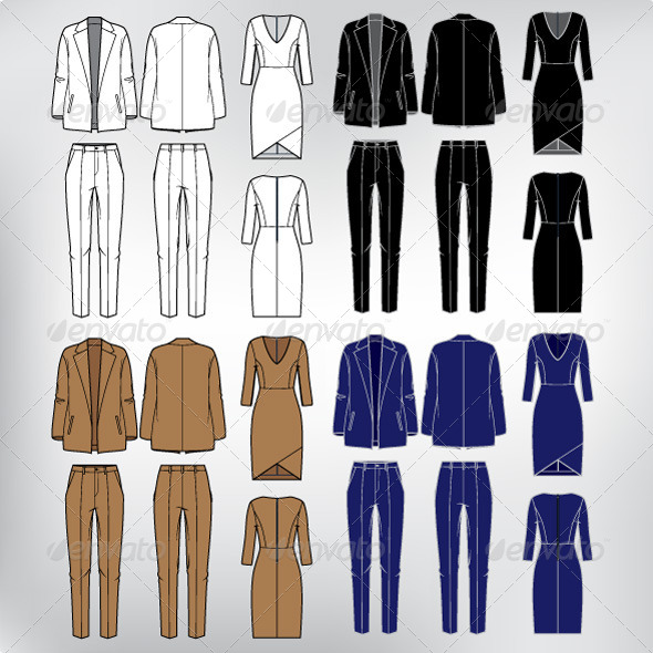 Set of Women s Clothes