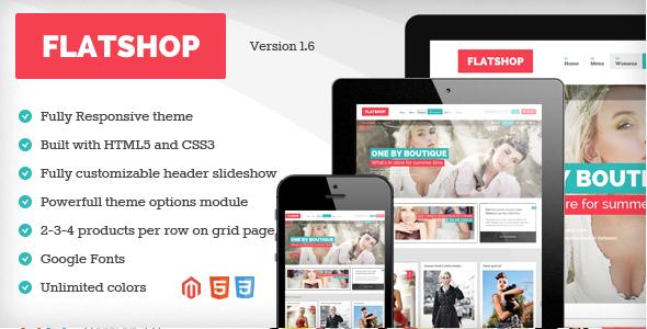 Flatshop - Responsive Magento Theme - Magento eCommerce