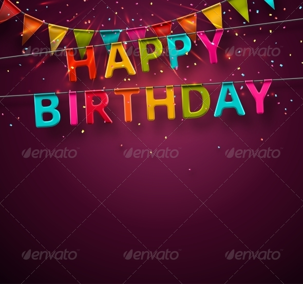 GraphicRiver Happy Birthday 7666844