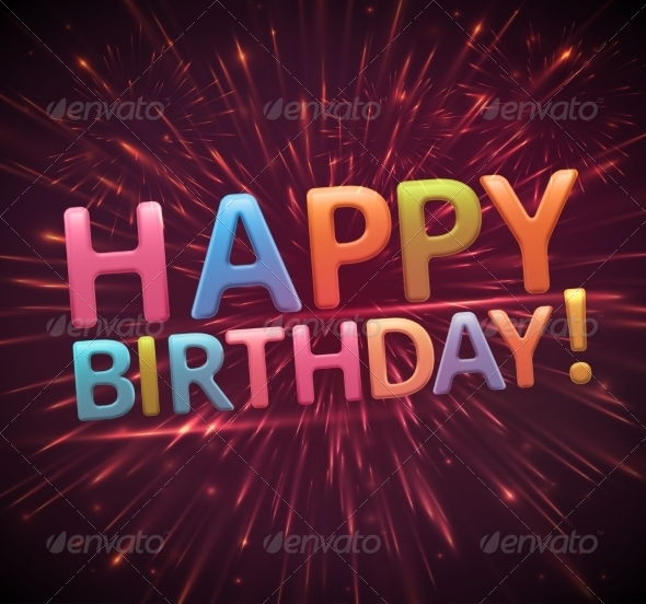 GraphicRiver Happy Birthday 7666848