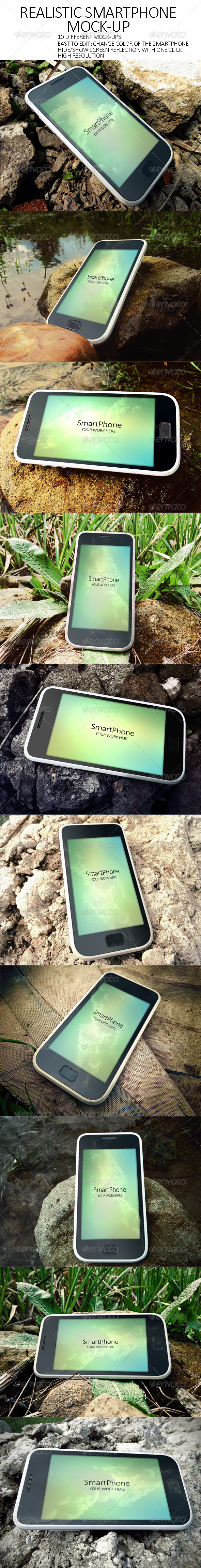 GraphicRiver Realistic SmartPhone Mock-Up 7667233