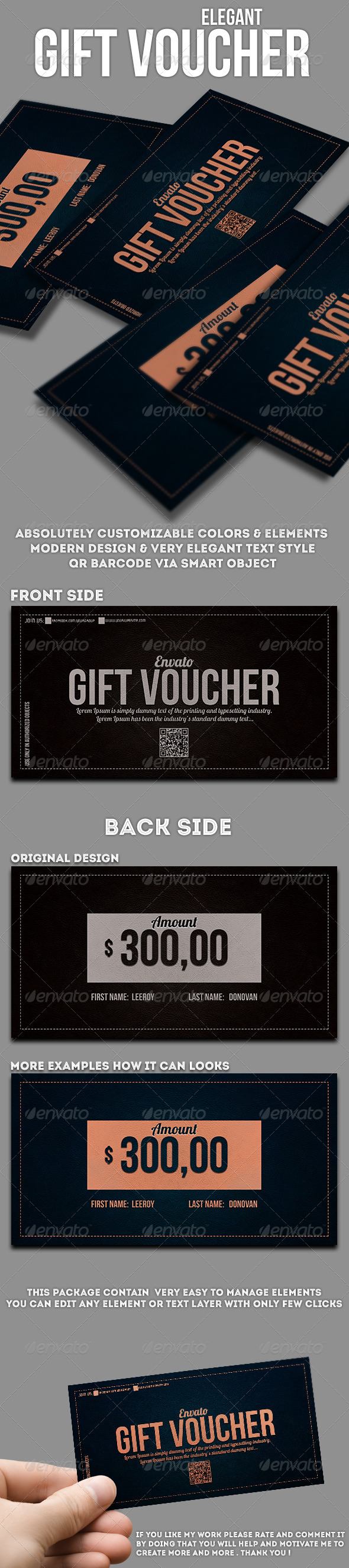GraphicRiver Elegant gift voucher 7647682
