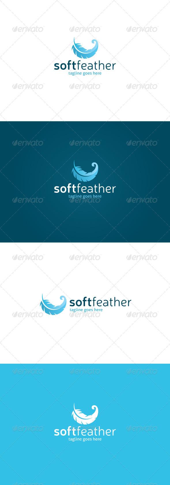 GraphicRiver Soft Feather Logo 7667437
