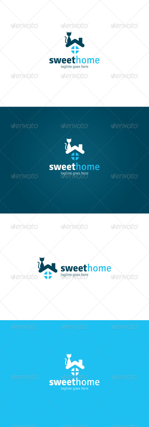 GraphicRiver Sweet Home Logo 7667640