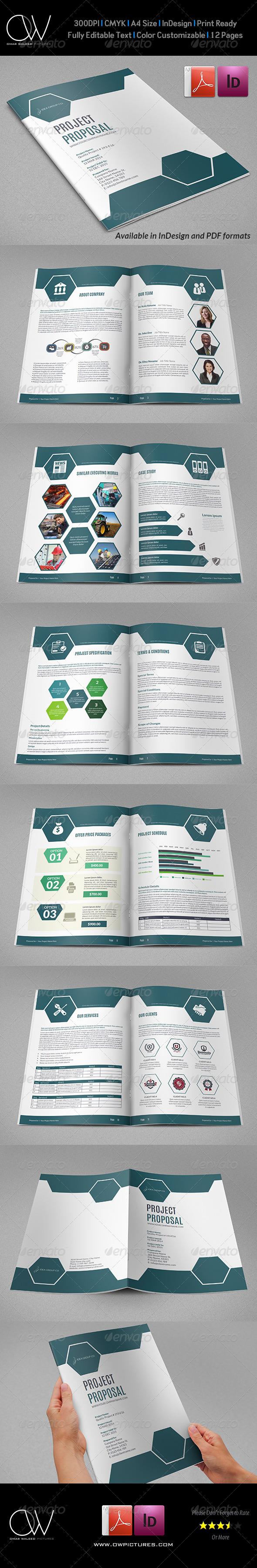 GraphicRiver Company Proposal Brochure Template Vol.3 7667951