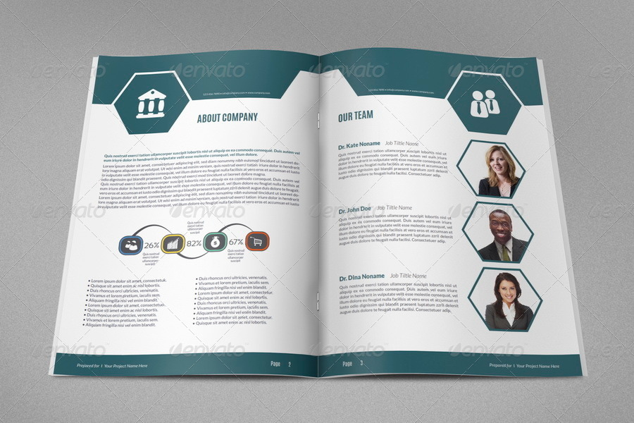 project brochure template - company proposal brochure template vol 3 by owpictures