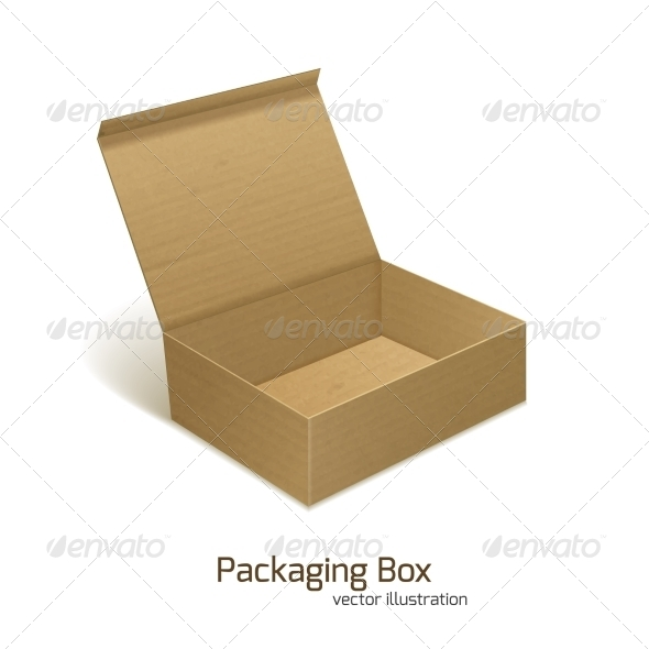 GraphicRiver Paper Packaging Box 7668301