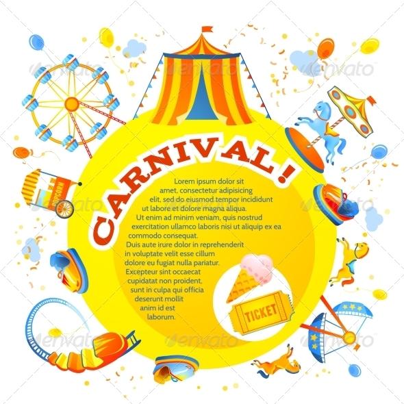 GraphicRiver Amusement Park Design 7668359