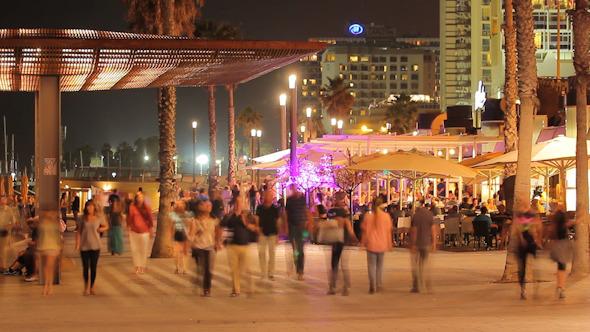 Promenade Crowded