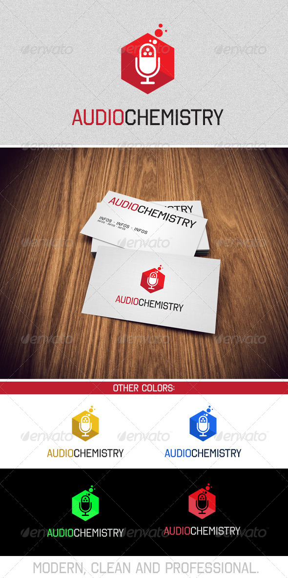 GraphicRiver Music and Audio Chemistry 7668801