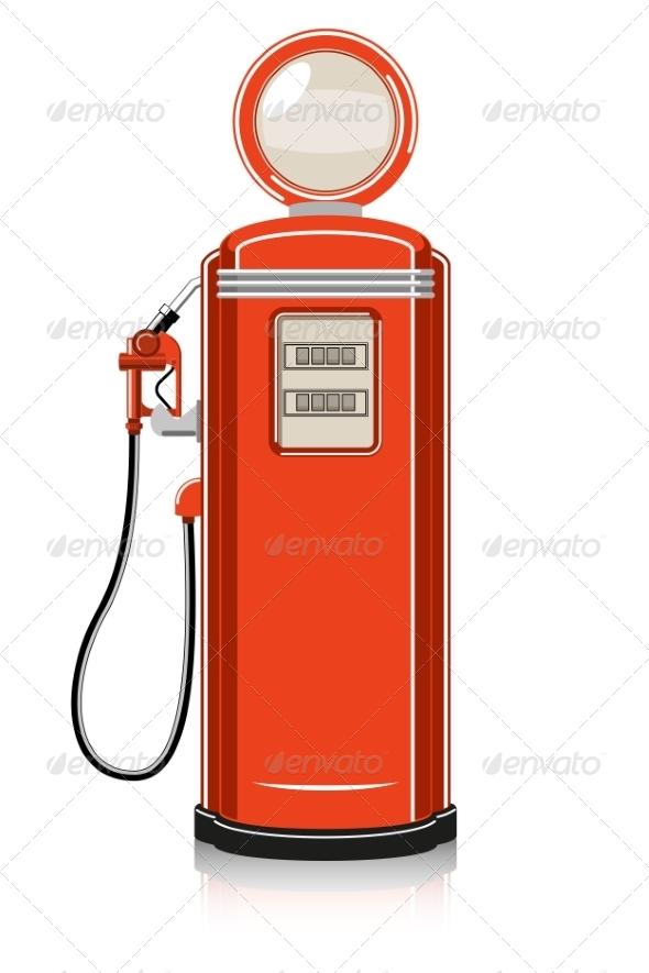 GraphicRiver Retro Gas Pump 7668819