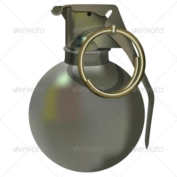 GraphicRiver Hand Grenade 7668835