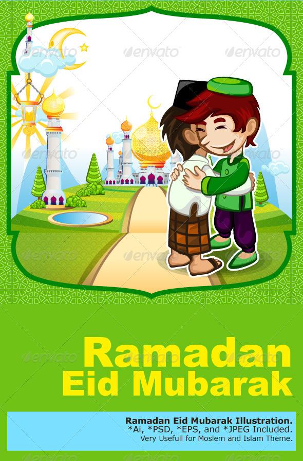 GraphicRiver Forgiveness Eid Mubarak Greeting Card 7669043