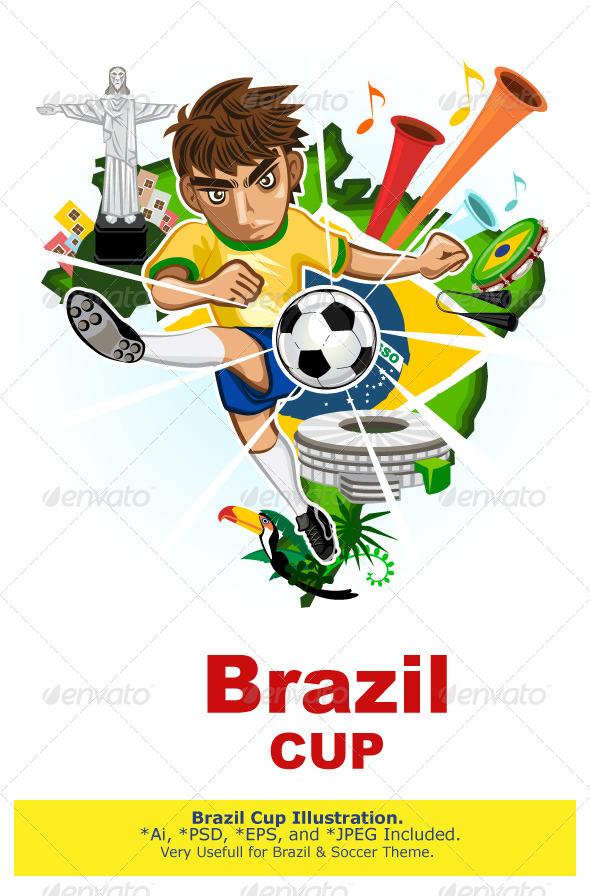 GraphicRiver Brazil Cup 7669086