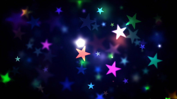 Colorful Shining Stars