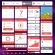 Flat User Interface Template - GraphicRiver Item for Sale