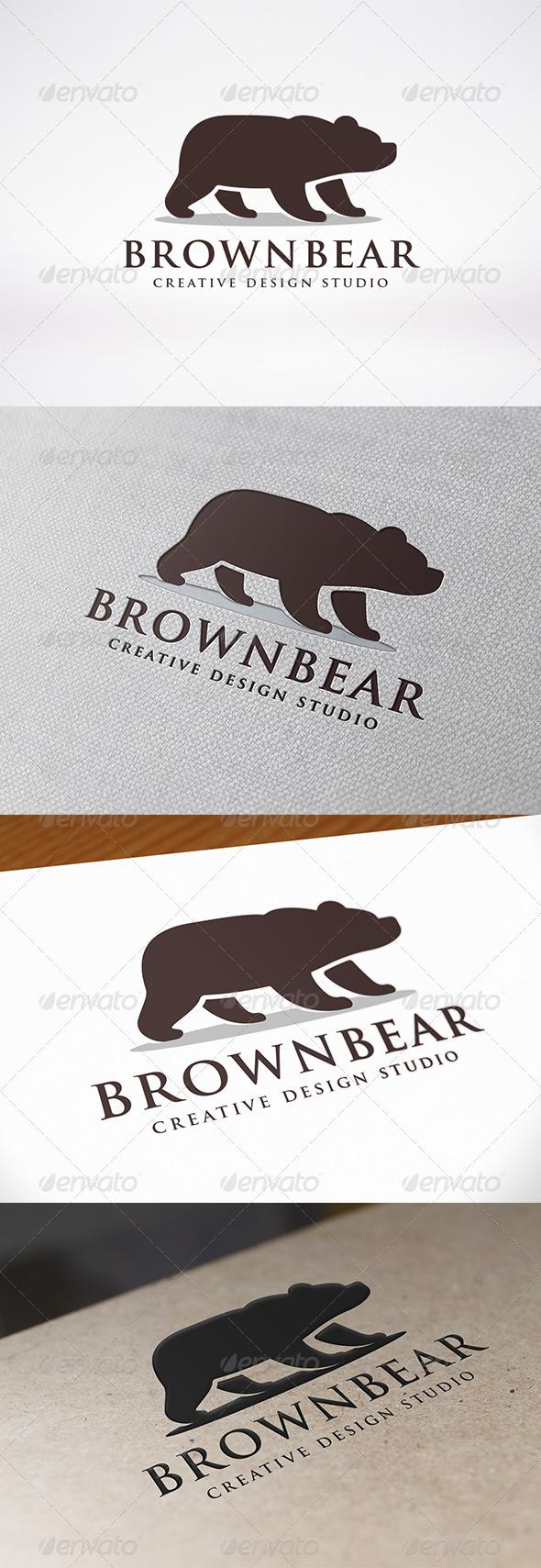 GraphicRiver Bear Logo Template 7671228